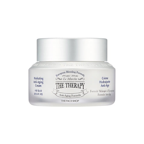 [THE FACE SHOP] The Therapy Hydrating Antiaging Moisturizing Cream