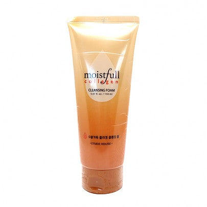 [Etude house] Moistfull Collagen Cleansing Foam 150ml| Facial Cleanser | Moist And Bouncy Bubble Moisturizes Skin