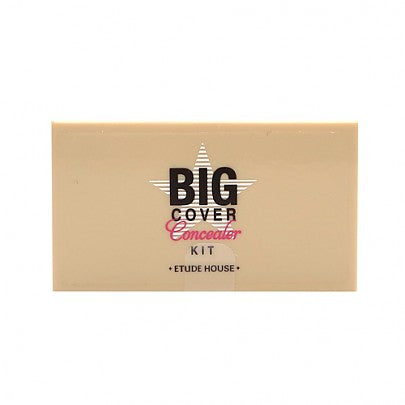 [Etude house] Big Cover Concealer Kit  Creamy Medium-High Coverage Color Correcting Set Face Makeup