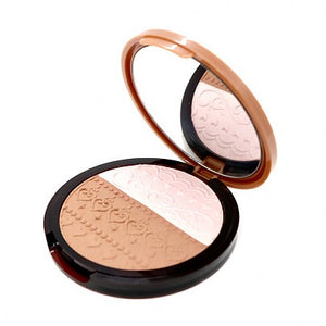 [Etude house] Face Designing V-Line Slim Maker #02 (Sun Pink / Cherry Brown) 2 in 1 Bronzing and Highlighting Pressed Powder Glow Duo
