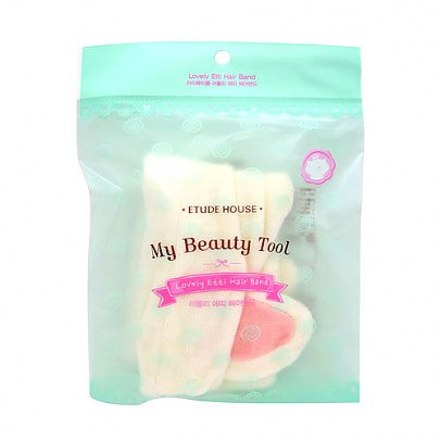 [Etude house] My Beauty Tool Lovely Etti Hair Band Cute and Lovely Tool To Keep Away Your Hair And Brighten Your Mood