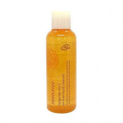 [Innisfree] Tangerine Vita C Oil Free Cleanser 150ml Skin-Friendly