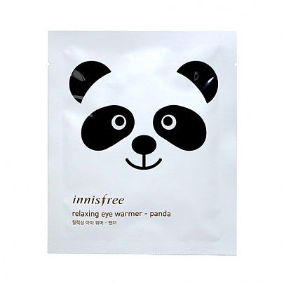 [Innisfree] Relaxing Eye Warmer Panda Sheep Soothing Tired Tense With Heat Cute Animal Print