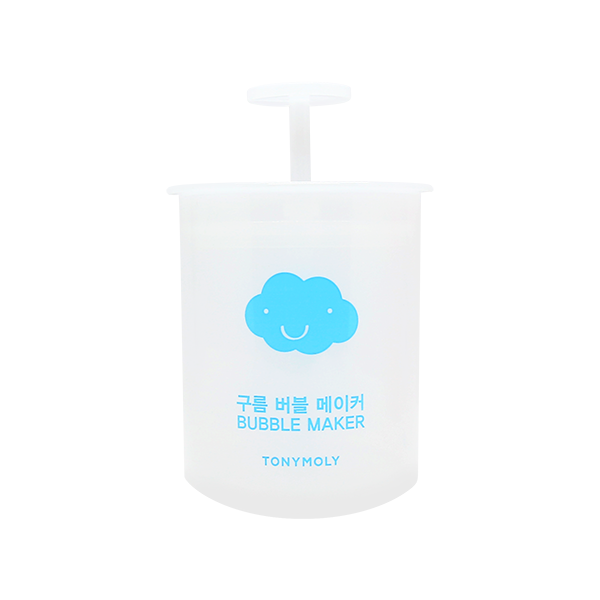 [Tonymoly] Cloud Bubble Maker 1ea Pairing Foam Cleanser Up Creamiest Bubbles Gentler Cleanse