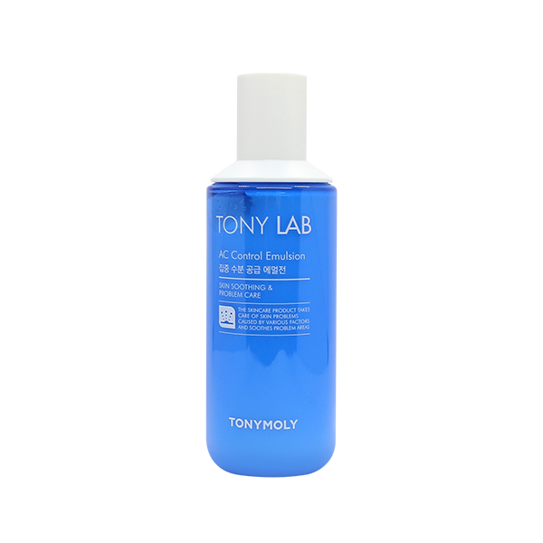 [Tonymoly] Tony Lab AC Control Emulsion 150ml Lightweight Quick Absorption  Revitalizes Provides Moisture Hydration