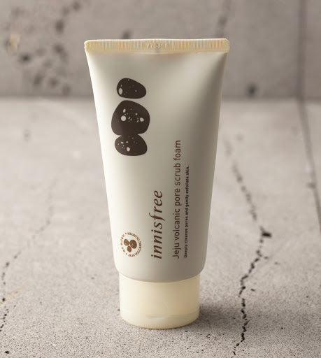 [Innisfree] Jeju Volcanic Pore Scrub Foam 150ml Best Ingredients For Cleaning Pores