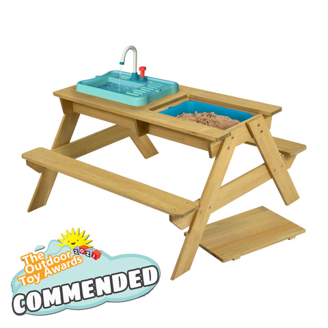 TP Splash and Play Wooden Picnic Table