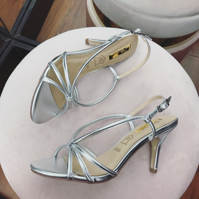 Glamour 'Cindy' Sandal - Silver