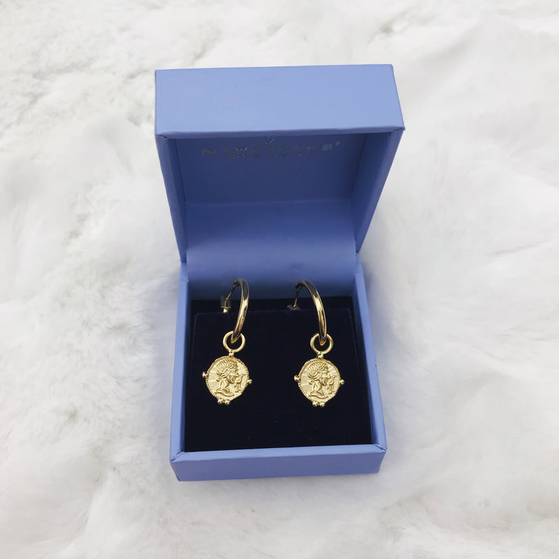Newbridge Small Coin Earrings