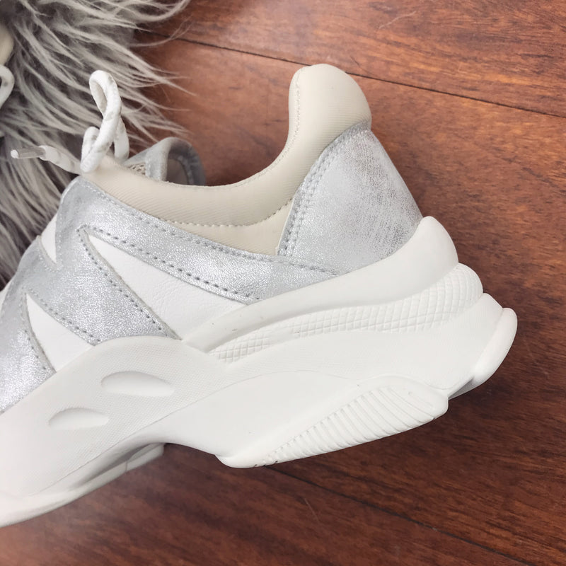 Sprox Chunky Trainers - White & Ice