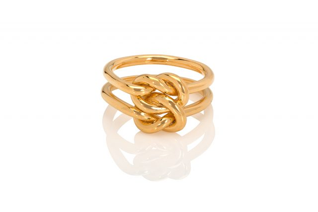 Kei Tominaga - Double knot ring 2mm