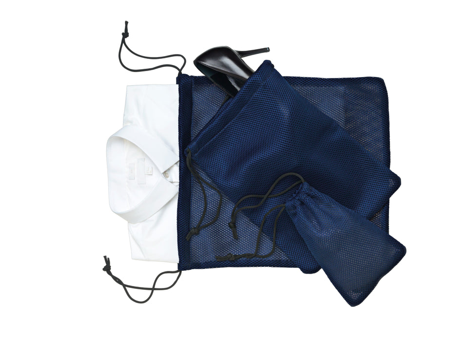 Nomess - Mesh Bag Set (Blue)