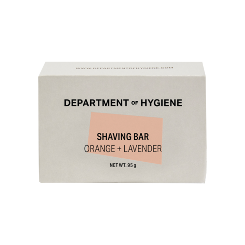 Department of Hygiene - Shaving Bar