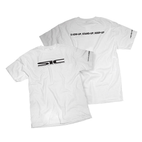SIC Logo White T-Shirt