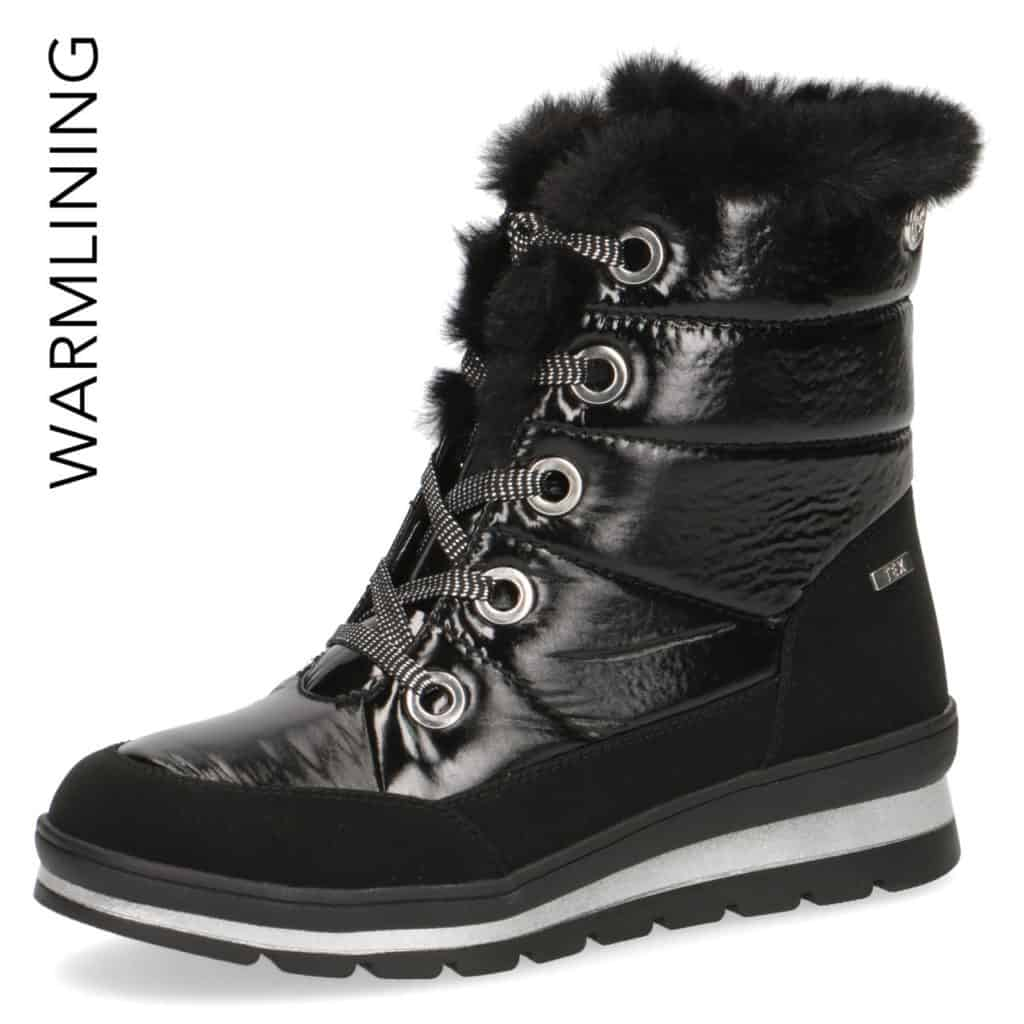 Caprice Black 'Tex' Snow Boot