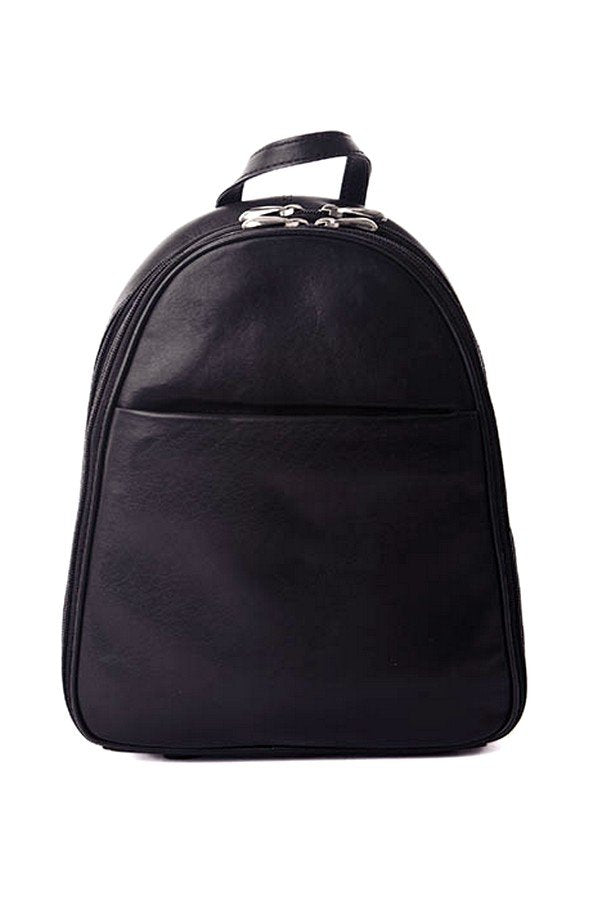 Nova Leathers Black/ Tan Backpack