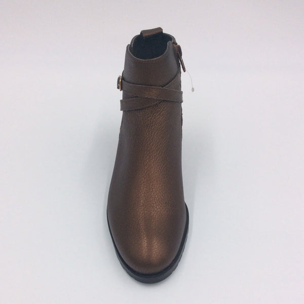 Bronze Ankle Boot