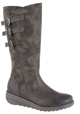 Cipriata Grey Stylish 3/4 Long Boot