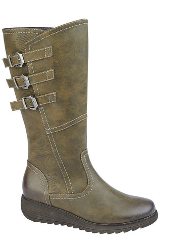 Cipriata Stylish Olive 3/4 Boot