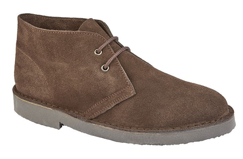 Roamers Dark Brown Desert Boot