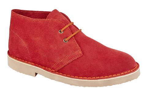 Roamers Red Desert Boot
