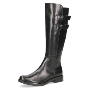 Caprice Black Full Length Boot