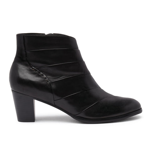Regarde Le Ciel Black Smart Ankle Boot