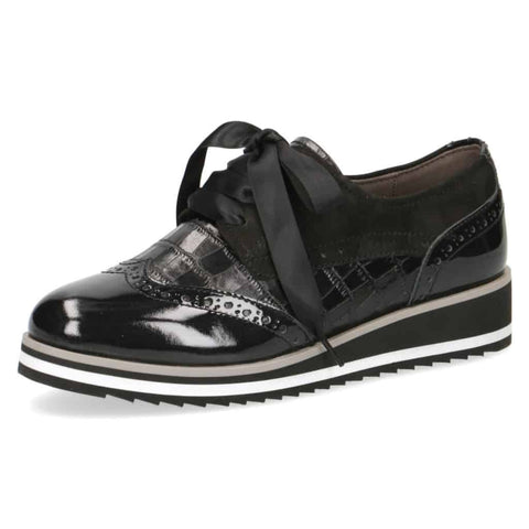 Caprice Black Brogue