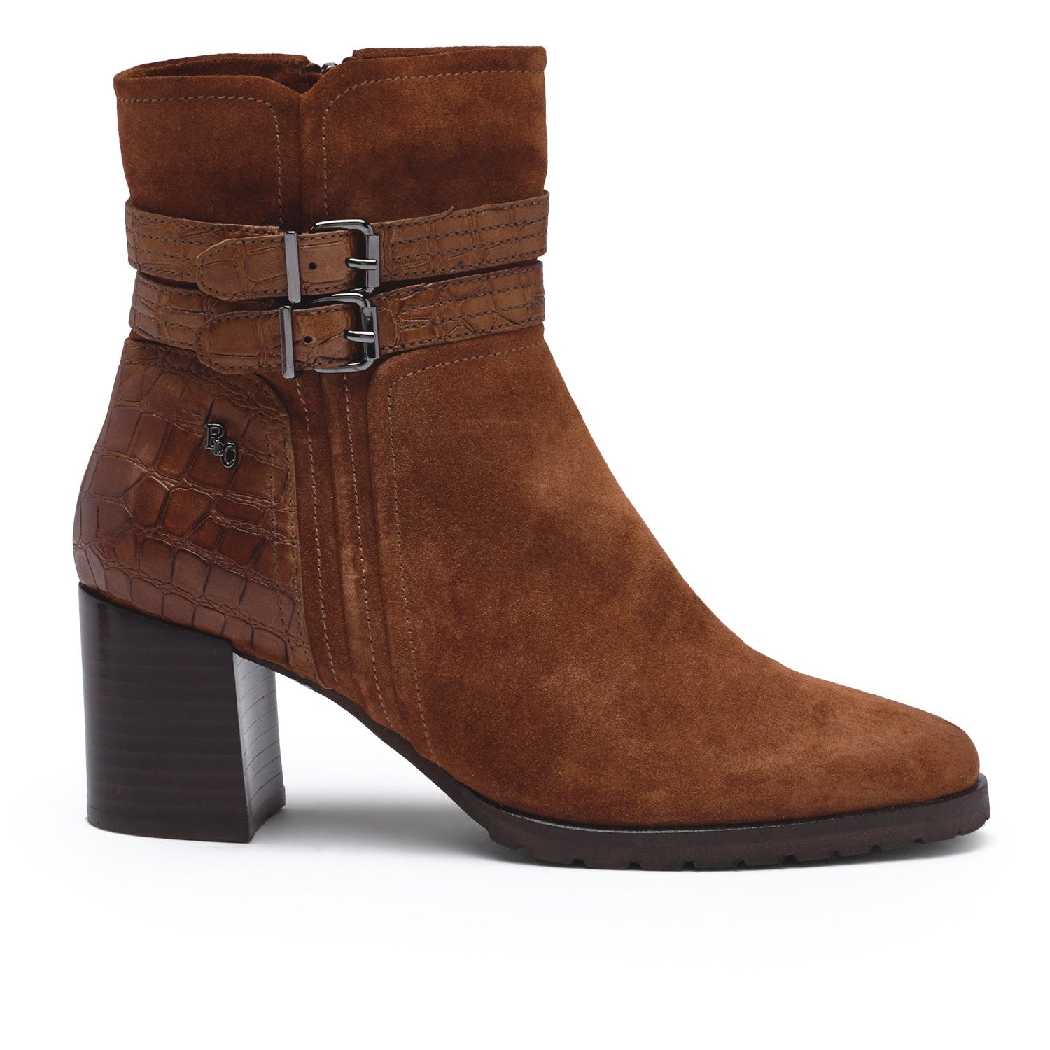 Regarde Le Ciel Tan Tall Ankle Boot