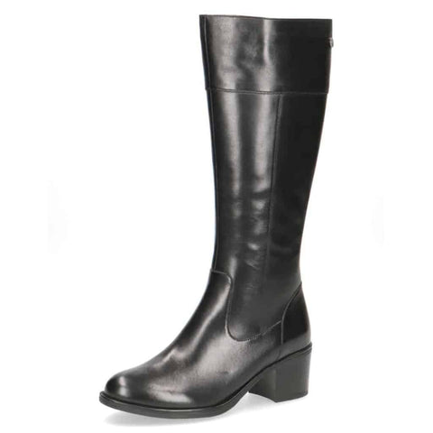 Caprice Black Petite Lady Long Boot