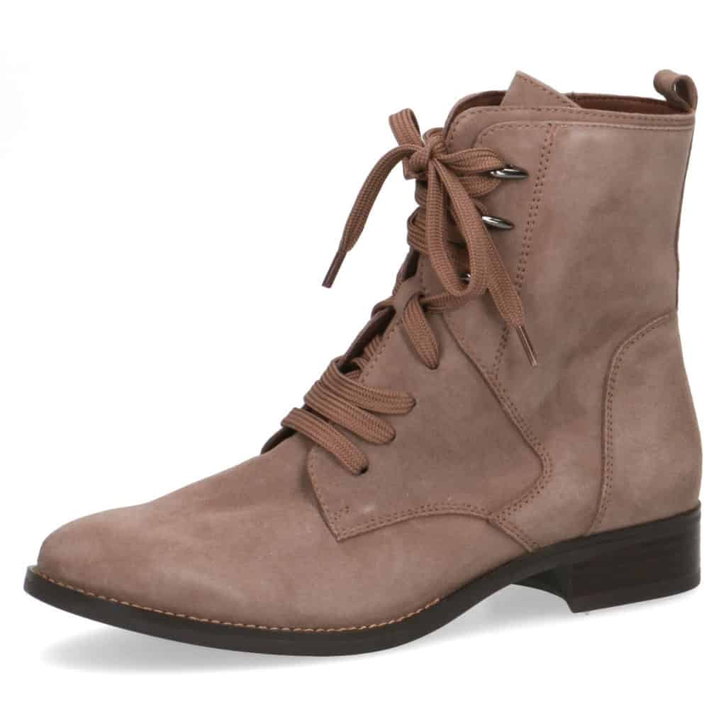 Caprice Tall Lace Up Ankle Boot
