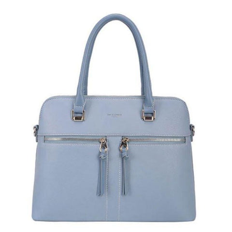 David Jones Pale Blue Tote Handbag