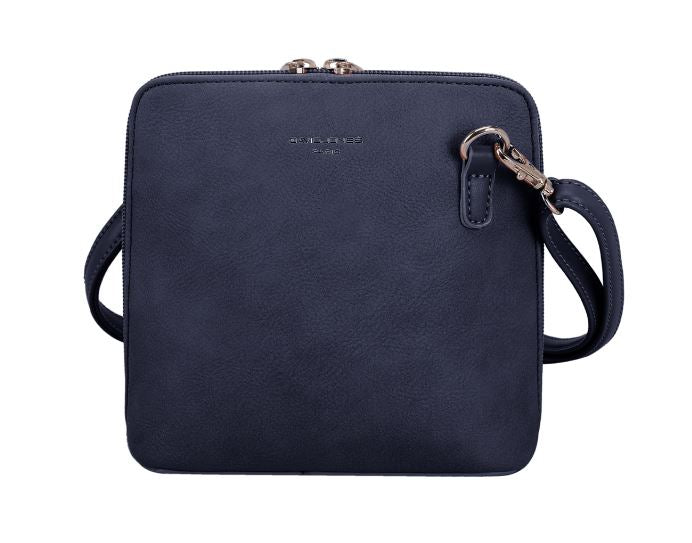 David Jones Navy Small Cross-Body Bag