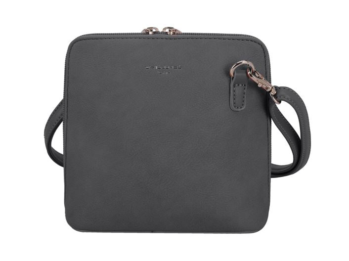 David Jones Dark Grey Small Cross-Body Bag