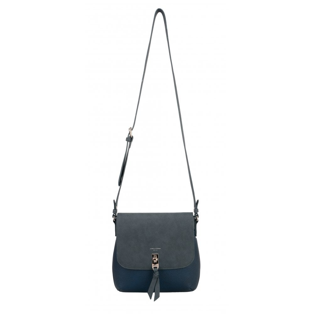 David Jones Navy Cross Body Bag