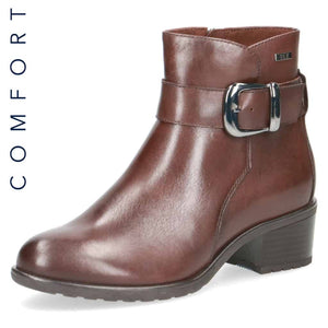 Caprice 'Tex' Brown Ankle Boot