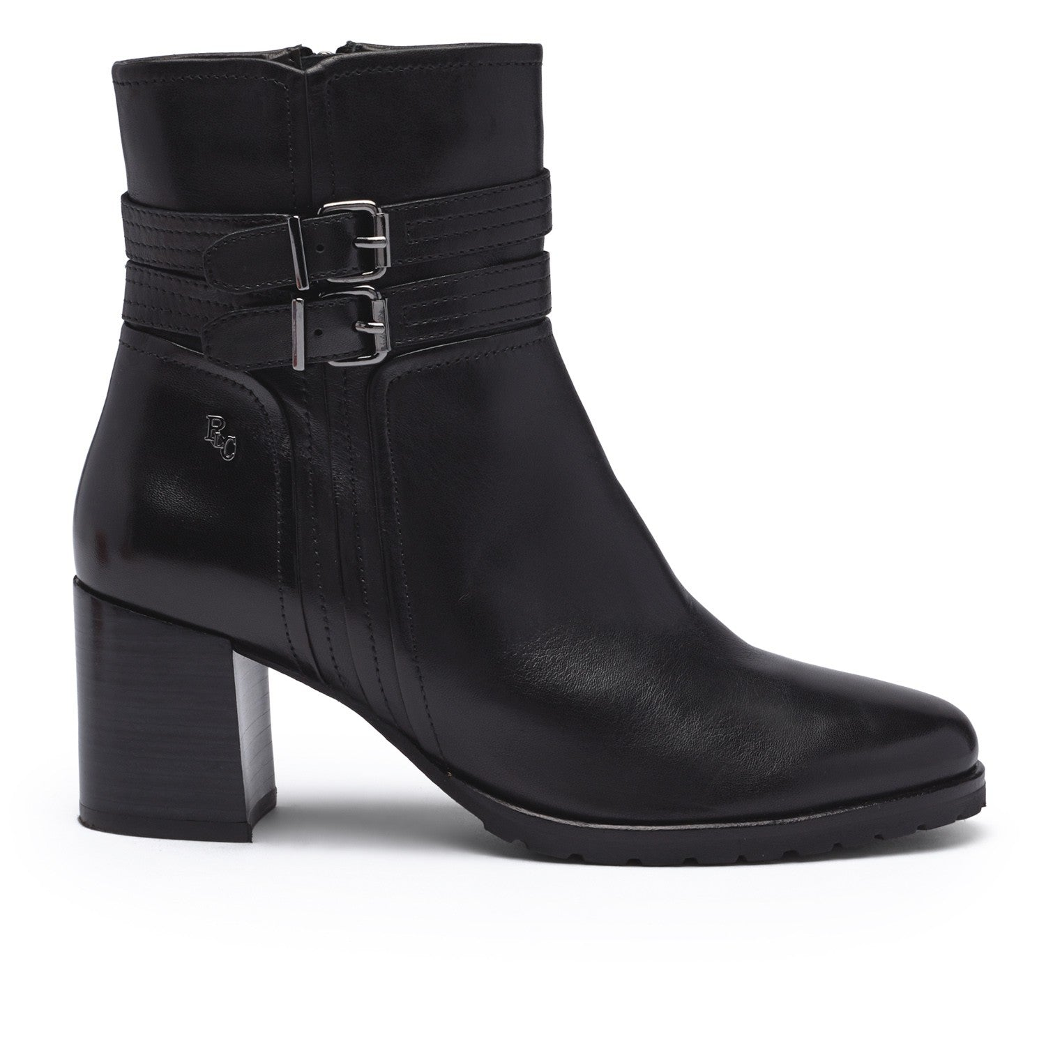 Regarde Le Ciel Black Tall Ankle Boot