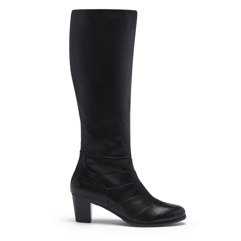 Regarde Le Ciel Black Long Smart Boot