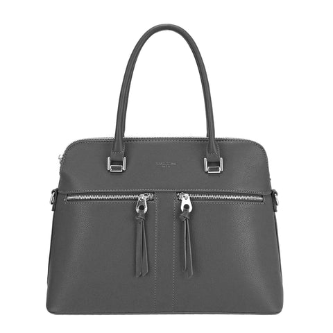 David Jones Grey Tote Handbag