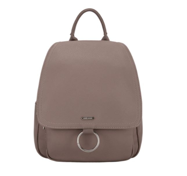 David Jones Taupe Back Pack