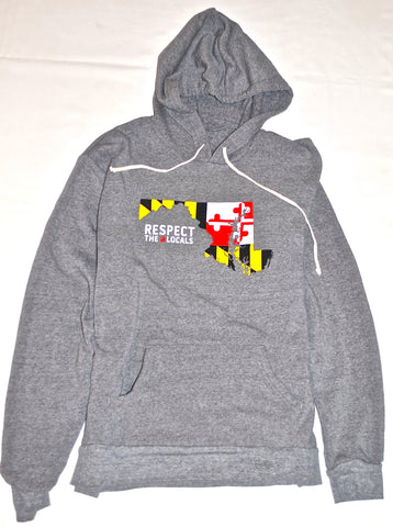 RTL - Maryland Flag Eco Black - Hoodie