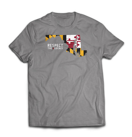 RTL - Men's Maryland Flag Gray Crew
