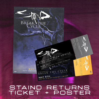 Staind-Returns-Ticket-+-Autographed-Poster