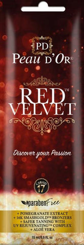 Peau d'Or Red Velvet sachet 15 ml - HPA lampen.nl