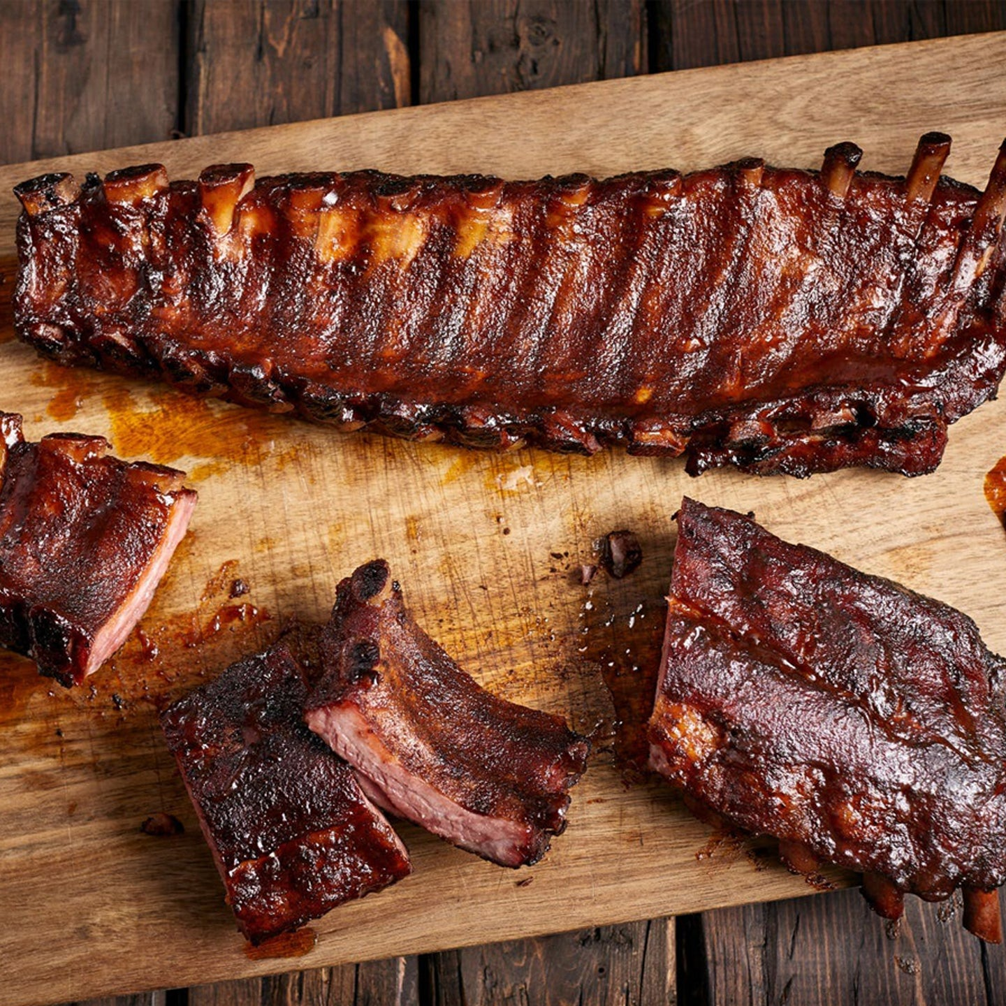 Pork Baby Back Ribs Smoked [$16.50/ea]
