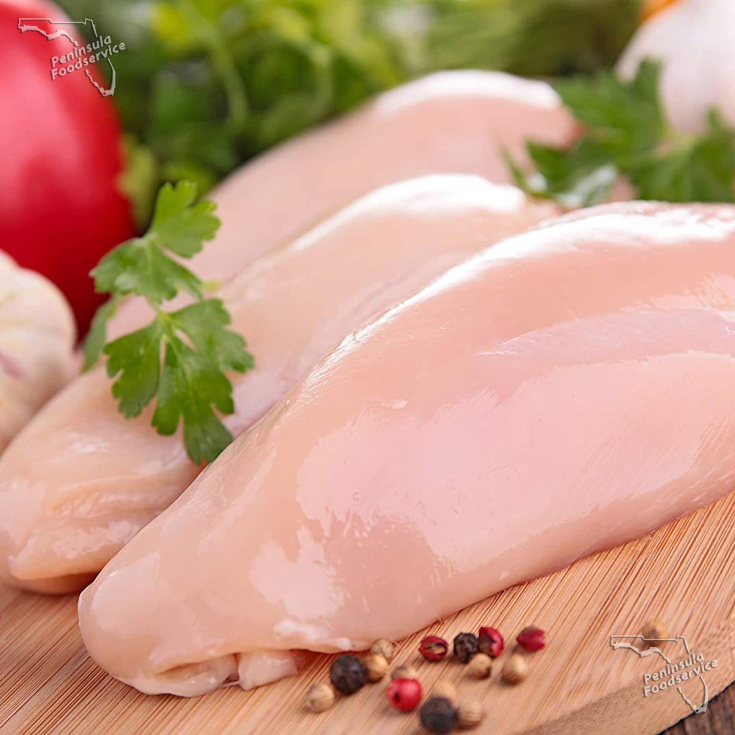 Chicken Breast Boneless Skinless 6.oz [$1.64/ea]
