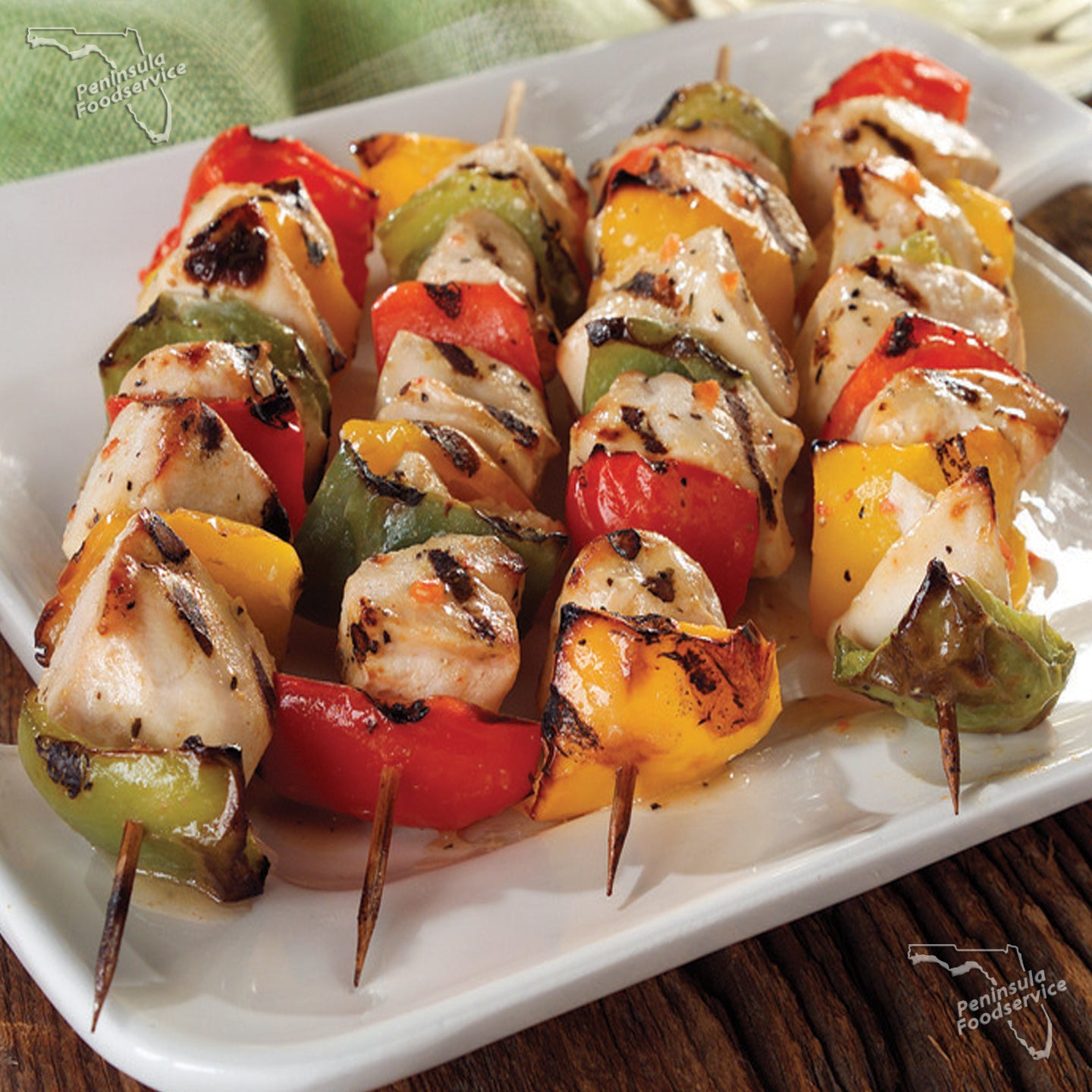 Chicken Thigh Kabobs Entree Size [$2.50/ea]