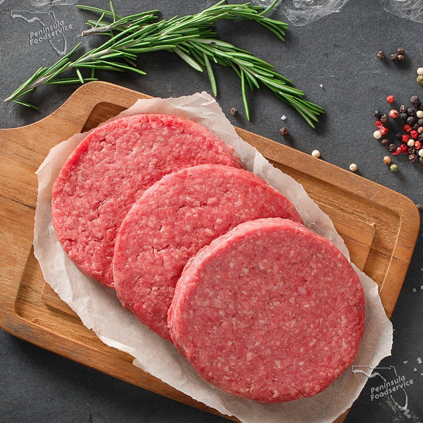 Beef Patties 4.oz GRASS-FED [$1.35/ea]
