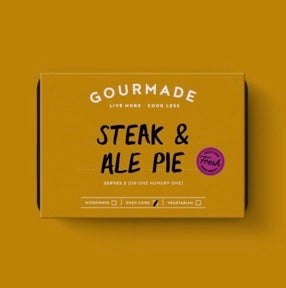 Gourmade Steak & Ale Pie