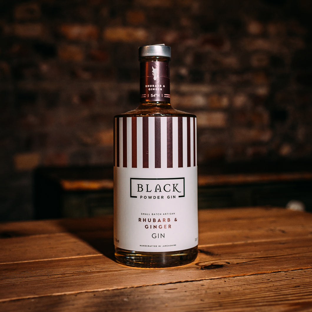 Black Powder Gin - Rhubarb & Ginger - 70cl
